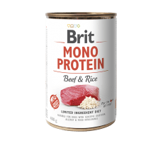 Brit Mono Protein Beef & Brown Rice 400 g