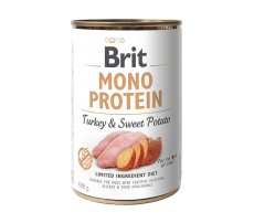 Brit Mono Protein Turkey & Sweet Potato 400 g