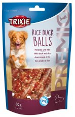 Rice Duck Balls 80g Hungodis från Trixie