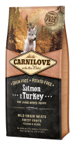 Carnilove Salmon & Turkey - Puppy Large Breed 12 kg