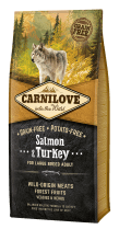 Carnilove Salmon & Turkey - Adult Large Breed 12 kg