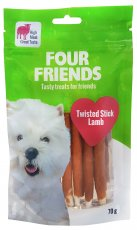 Four Friends Twisted Stick Lamb 7 Pack