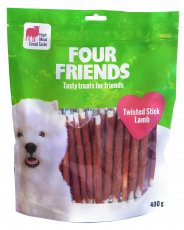 Four Friends Twisted Stick Lamb 40 Pack