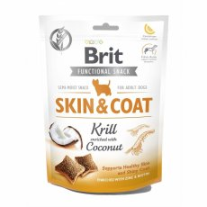 Brit Functional Snack Skin and Coat Krill