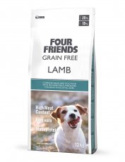 Four Friends Grain Free Lamb 12 kg