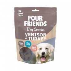 Four Friends Dog Snacks Venison & Turkey