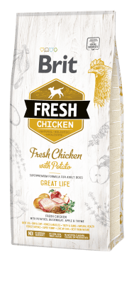 brit fresh chicken potato