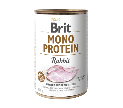 Brit Mono Protein Rabbit 400 g