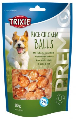 Rice Chicken Balls 80g Hundgodis från Trixie