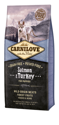 Carnilove Salmon & Turkey - Puppies 12 kg