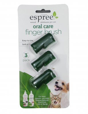 Espree Fingerbrushes 3-pack