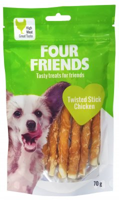 Four Friends Twisted Stick Chicken 7 Pack