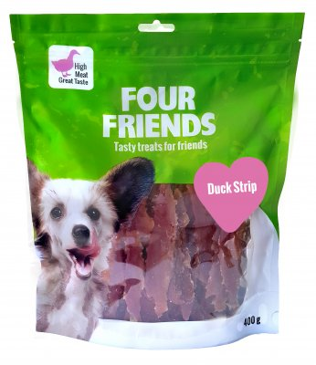 Four Friends Duck Strip 400g